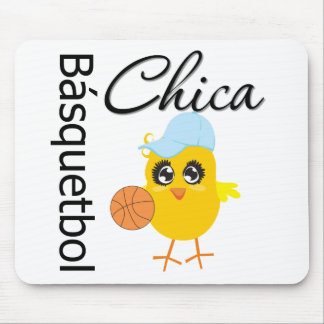 Básquetbol Chica Alfombrilla De Ratones