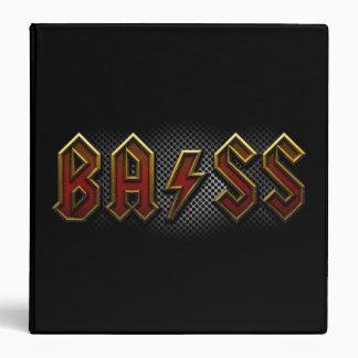 Bass 3 Ring Binder