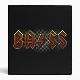 Bass 3 Ring Binders