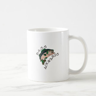 Bass Ackwards Coffee Mug