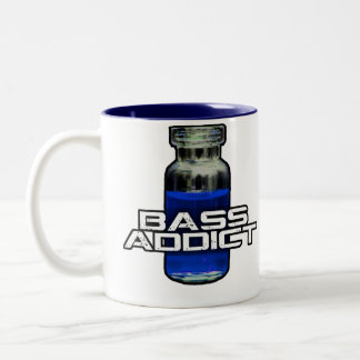 Bass Addict Two-Tone Coffee Mug