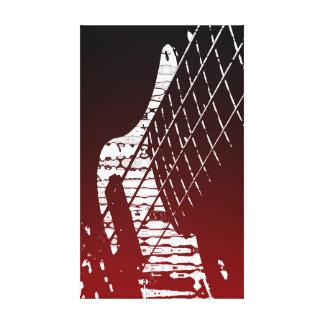 Bass Axe Canvas Prints