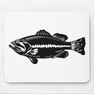 Bass Bait Clothing & Gear Mouse Pad