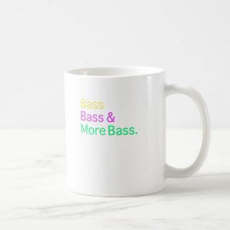 Bass Bass & More Bass Coffee Mug