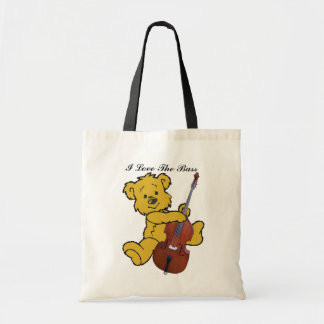 BASS BEAR-BAG TOTE BAG