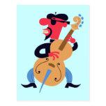 Bass Beat Postcard