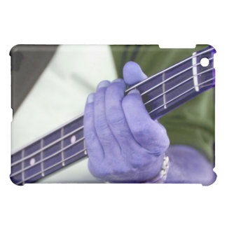 bass blue player hand on neck male photograph case for the iPad mini
