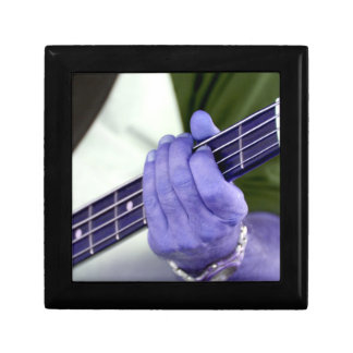 bass blue player hand on neck male photograph keepsake boxes