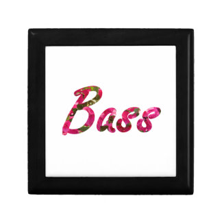 Bass bougie flat text jewelry boxes
