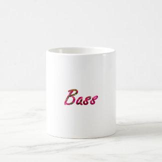 Bass bougie flat text mugs