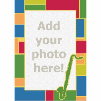 Bass Clarinet Colorblocks Photo Sculpture