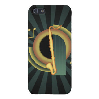 Bass Clarinet Deco 1 Case For iPhone SE/5/5s
