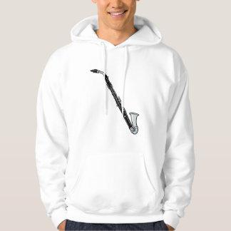 Bass Clarinet Graphic, Just the Clarinet Hoody