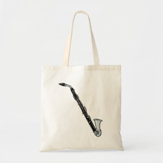 Bass Clarinet Graphic, Just the Clarinet Tote Bag