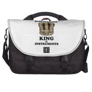 Bass Clarinet King of Instruments Laptop Bag