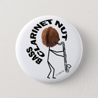 Bass Clarinet Nut Button