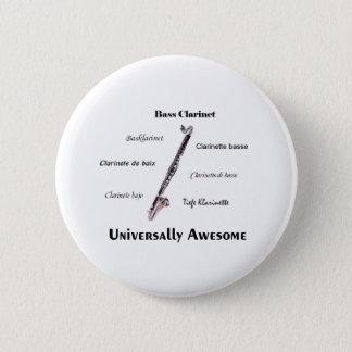 Bass Clarinet Pinback Button
