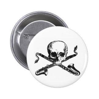 Bass Clarinet Pirate Button