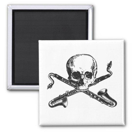Bass Clarinet Pirate Magnet