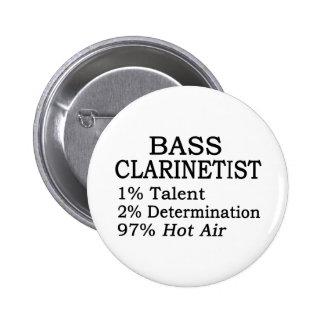 Bass Clarinetist Hot Air Buttons