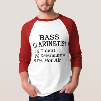 Bass Clarinetist Hot Air T-Shirt