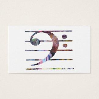 Bass Clef Art Business Card