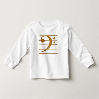 Bass Clef Art Toddler T-shirt