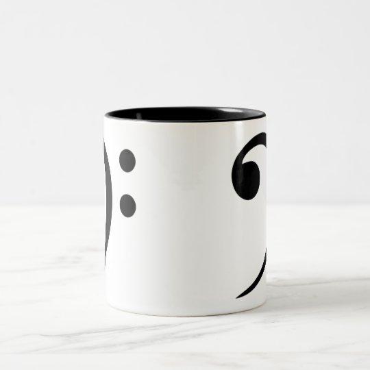 Bass Clef Coffee Mug (Large)