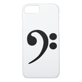 Bass Clef iPhone 8/7 Case