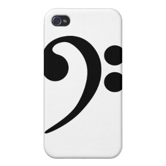 Bass Clef Cases For iPhone 4