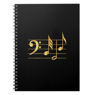 Bass clef note book