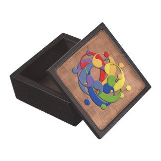 Bass Clef Rainbow Puzzle Gift Box