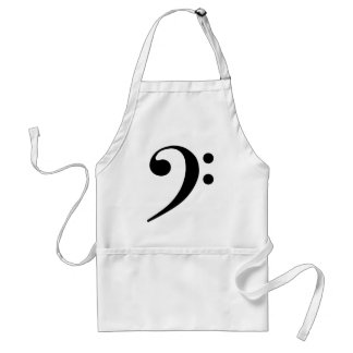 Bass Cleff Apron