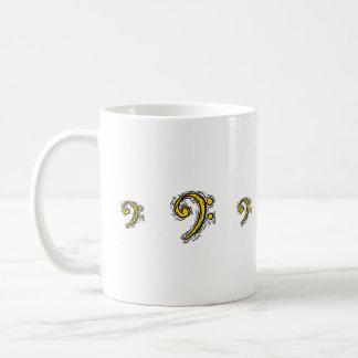 Bass Cleff Mugs
