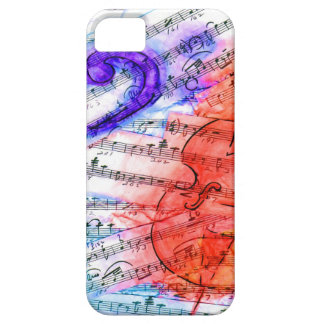 Bass Cut Sheet - casemate iPhone SE/5/5s Case