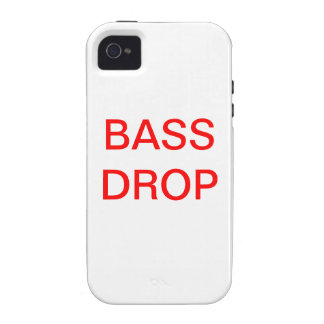 Bass drop case for the iPhone 4