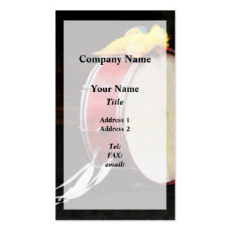 Bass Drum at Parade Double-Sided Standard Business Cards (Pack Of 100)