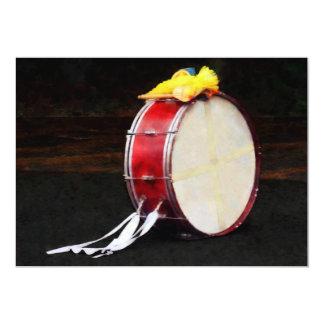 Bass Drum at Parade Card