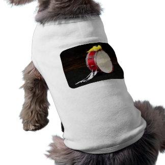 Bass Drum at Parade Dog Tee Shirt