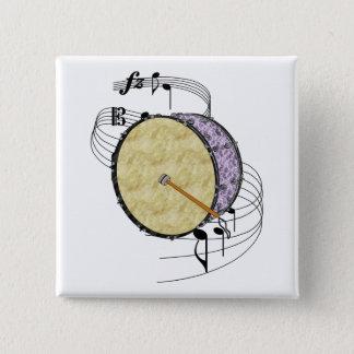 Bass Drum Button