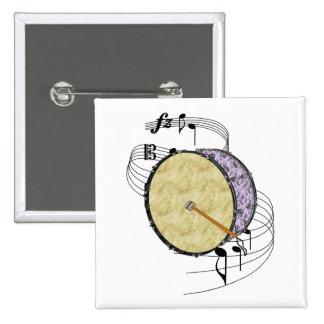 Bass Drum Pin