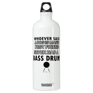 bass drum Dance Designs Aluminum Water Bottle