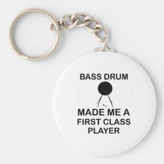 bass drum  Design Basic Round Button Keychain