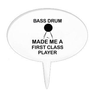 bass drum  Design Cake Topper