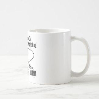 bass drum design coffee mug