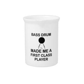 bass drum  Design Drink Pitcher