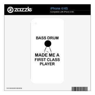 bass drum  Design iPhone 4S Decal