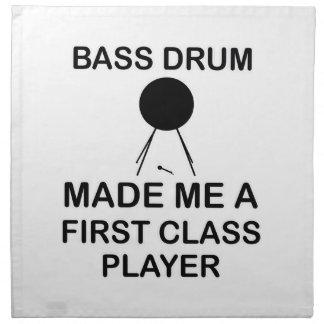 bass drum  Design Napkin