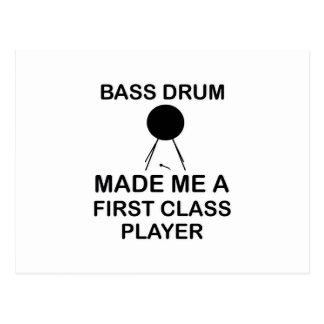 bass drum  Design Postcard