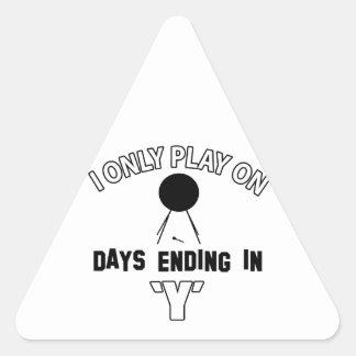 bass-drum design triangle sticker